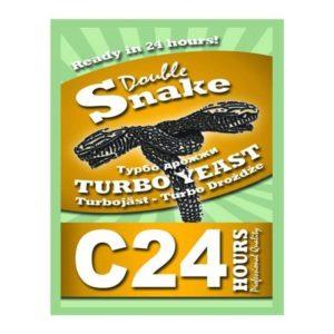 Турбо дрожжи DoubleSnake C24