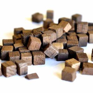 Дубовые кубики для настаивания самогона (сильный обжиг),100гр