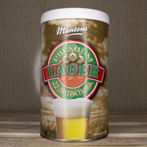 Пивной концентрат Muntons Lager, 1,5 кг