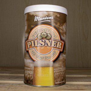 Пивной концентрат Muntons Pilsner, 1,5 кг
