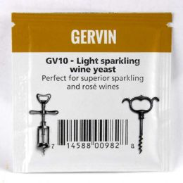 Дрожжи винные Gervin GV10 Light Spark Wine