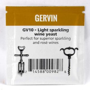 Дрожжи винные Gervin GV10 Light Spark Wine