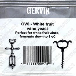 Дрожжи винные Gervin GV5 White Fruit Wine