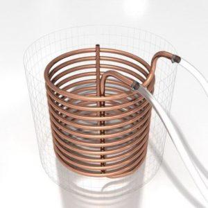 Охладитель погружной(чиллер), медь длина 15 м