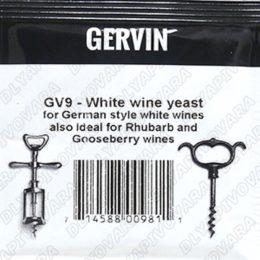 Дрожжи винные Gervin GV9 White Wine