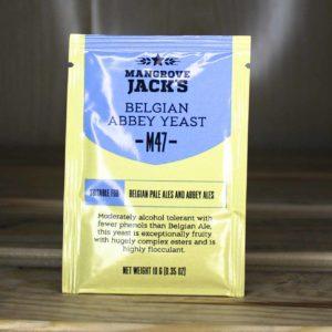 ДРОЖЖИ MANGROVE JACK'S BELGIAN ABBEY M47, 10 Г