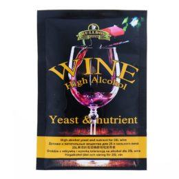 Дрожжи Винные Bulldog Wine Yeast & Nutr, 10гр (универсальные)