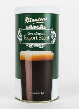 Пивной концентрат «Muntons» Export Stout 1.8кг