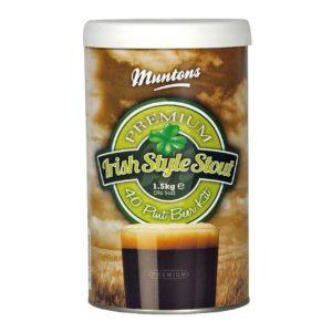 Пивной концентрат «Muntons» Irish Stout 1,5 кг