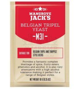 ДРОЖЖИ MANGROVE JACK'S BELGIAN TRIPEL M31, 10 Г
