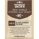 ДРОЖЖИ MANGROVE JACK'S NEW WORLD STRONG ALE M42, 10 Г