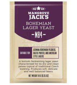 ДРОЖЖИ MANGROVE JACK'S BOHEMIA LAGER M84, 10 Г
