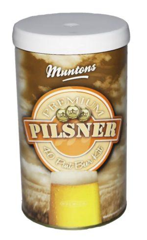 """Пивной концентрат """"Muntons"""" Pilsner 1,5 кг 3"""