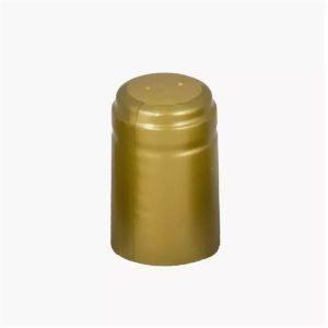 Термоусадочный колпачок на бутылку. Золото