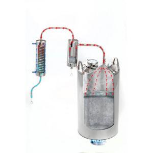 Дистиллятор Уфимец 4