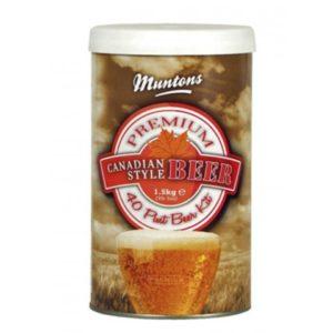 Солодовый экстракт Muntons Canadian Style B 1,5 кг