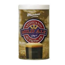Солодовый экстракт Muntons Mild Ale,1,5 кг