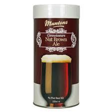 Солодовый экстракт Muntons Nut Brown 1,8 кг