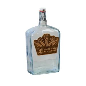 Бутылка ВИКИНГ (береста) декор 1,75 л