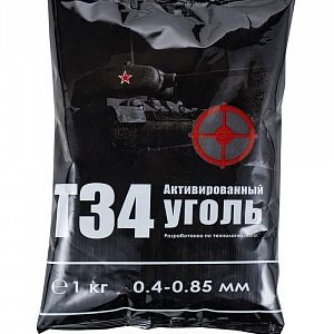 Уголь «Alcotec T-34» 1 кг,