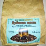 Дубовая щепа средней обжарки 150 гр