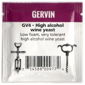 Дрожжи Винные GERVIN GV4