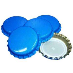 Кроненпробки синие, 80 шт