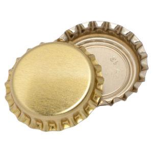 Кроненпробки золотые, 80 шт