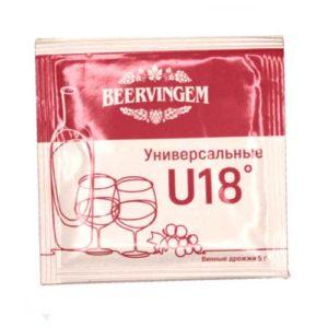 Винные дрожжи Universal U18