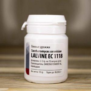 Винные дрожжи SAFSPIRIT Lalvin EC1118