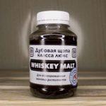 Щепа дубовая Whiskey Malt 50 гр. специальный обжиг