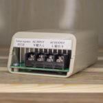 Регулятор напряжения 4 кВт белый